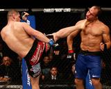 UFC 155: Dec 29, 2012 - Junior dos Santos vs Cain Velasquez Photographie par Josh Hedges
