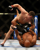 UFC 168: Dec 28, 2013 - Chris Weidman vs Anderson Silva Fotografia por Josh Hedges