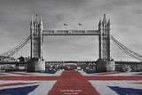 Tower Bridge Plakat af Tanya Chalkin