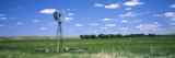 Windmill in a Field, Nebraska, USA Fotografie-Druck