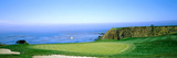 Pebble Beach Golf Course, Pebble Beach, Monterey County, California, USA Fotoprint