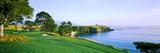 Pebble Beach Golf Course, Pebble Beach, Monterey County, California, USA Reproduction photographique