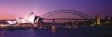 Opera House Harbour Bridge Sydney Australia Reproduction photographique
