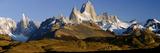 Mountains, Mt Fitzroy, Cerro Torre, Argentine Glaciers National Park, Patagonia, Argentina Photographic Print