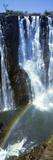 Victoria Falls Zimbabwe Africa Fotografisk tryk