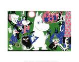 The Moomins Comic Cover 3 Poster por Tove Jansson