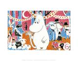 The Moomins Comic Cover 6 Posters por Tove Jansson