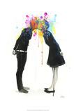 Big Bang Kiss Art par Lora Zombie