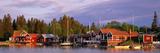 Archipelago Fishing Village on Alnoen Sweden Fotografie-Druck