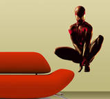 Spider-man - Crouching Wall Jammer Wall Decal Wall Decal