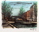 Canal St. Martin Collectable Print by Bernard Buffet