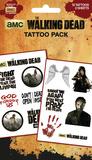 Walking Dead - Characters Falske tatoveringer
