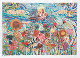 Walking on Water Collectable Print by Mati Klarwein