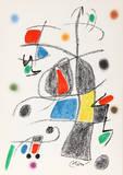 Maravillas con Variaciones Acrosticas en el jardin de Miro (Number 19) Premium-versjoner av Joan Miró