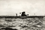 German Submarine U-8, a Type Iib U-Boat of the German Kriegsmarine Reproduction photographique