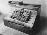 Early Typewriter Photographic Print