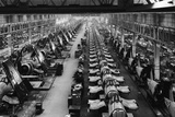 F4U Corsair Production Line Reproduction photographique