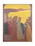 Magnificat, 1909 Reproduction procédé giclée par Maurice Denis