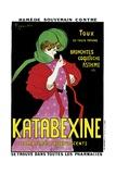 Poster Advertising 'Katabexine' Medicines, 1898 Giclée-vedos tekijänä Leonetto Cappiello