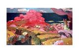 St. George and the Dragon Reproduction procédé giclée par Maurice Denis