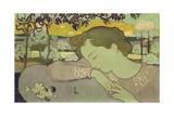 Sleeping Woman, 1892 Giclee Print by Maurice Denis