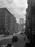 View of Lower East Side from Pitt Street Photographic Print