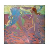 On the Beach, 1912 Reproduction procédé giclée par Maurice Denis
