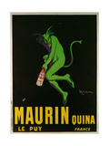 Poster Advertising 'Maurin Quina', Le Puy, France Gicléedruk van Leonetto Cappiello