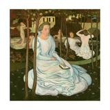 The Orchard of the Wise Virgins, 1893 Reproduction procédé giclée par Maurice Denis