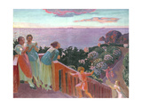 Balcon a Silencio, 1918 Reproduction procédé giclée par Maurice Denis