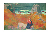 The Solitude of Christ, 1918 Giclee Print by Maurice Denis