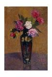 Vase de Fleurs, 1916 Reproduction procédé giclée par Henri Martin
