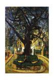 The Tree in Vence, L'Arbre de Vence, 1929 Giclée-tryk af Chaim Soutine