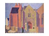 The Church of Notre-Dame De La Clarte at Perros-Guirac, 1923 Reproduction procédé giclée par Maurice Denis