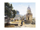 The Dome of the Rock, Jerusalem, Israel Giclee Print by Gustav Bauernfeind
