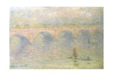 Waterloo Bridge (Light Effects) Giclée-Druck von Claude Monet