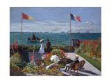 Terrasse À Sainte-Adresse (Terrace at Sainte-Adresse) Giclée-tryk af Claude Monet
