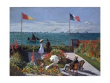 Terrasse À Sainte-Adresse (Terrace at Sainte-Adresse) Giclee Print by Claude Monet