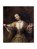 Lucretia Lámina giclée por  Rembrandt van Rijn