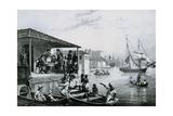Disembarkation Giclee Print by Johann Moritz Rugendas