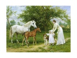 The Introduction Giclee Print by George Augustus Holmes