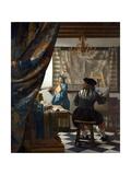 The Art of Painting Giclée-Druck von Johannes Vermeer