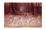 The Haunted Park Lámina giclée por Richard Doyle