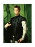 Portrait of Ludovico Capponi Giclée-tryk af Agnolo Bronzino