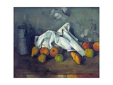 Boîte À Lait Et Pommes (Milk Can and Apples) Lámina giclée por Paul Cézanne