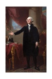George Washington (The Lansdowne Portrait) Giclee Print by Gilbert Stuart