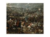 Battle of Vienna Giclee Print by Pauwel Casteels