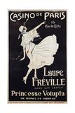 Casino De Paris Laure Freville Poster Giclée-Druck