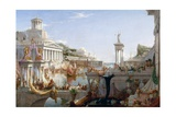 The Course of Empire - Consummation Giclée-tryk af Thomas Cole