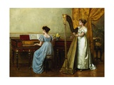 The Duet Giclee Print by George Goodwin Kilburne